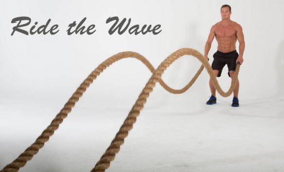 ride the wave battle ropes